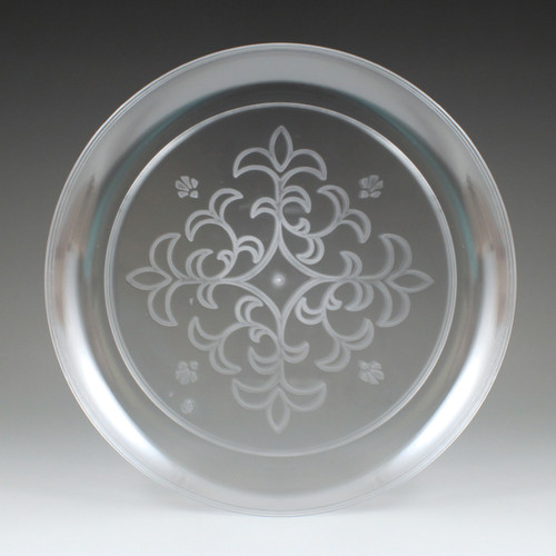 """7.25"""" Sovereign Etched Plate"""