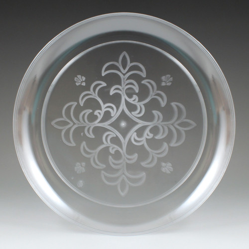 """9"""" Sovereign Etched Plate"""