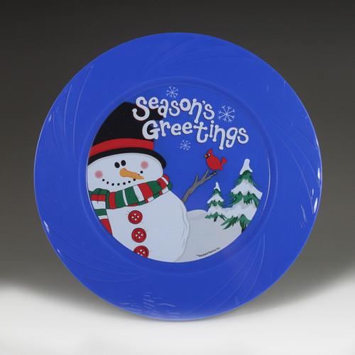 "6.5"" TruColor Season's Greetings Plate"