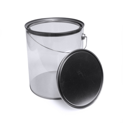 "Paint Can with Lid | 7.875"" H x 6.625""Dia."