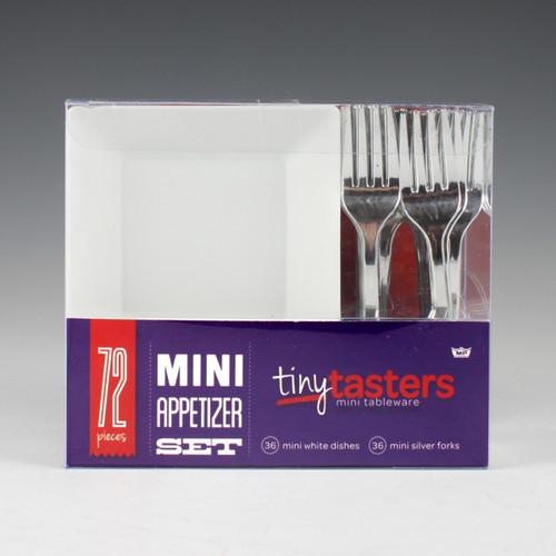 Tiny Tasters 72 - piece Mini Appetizer Set