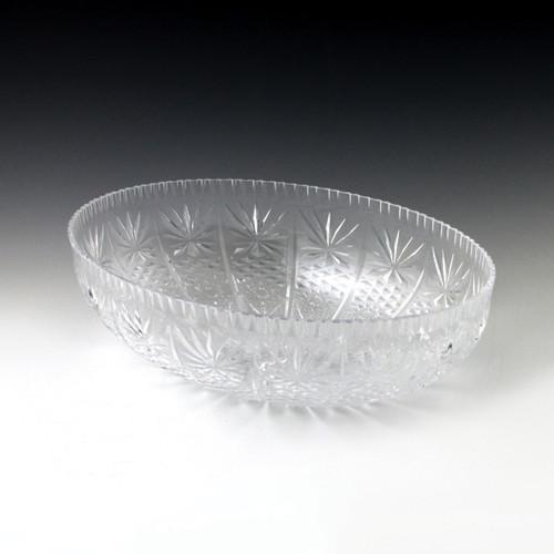 Crystal Cut Luau Bowl (12 Piece)