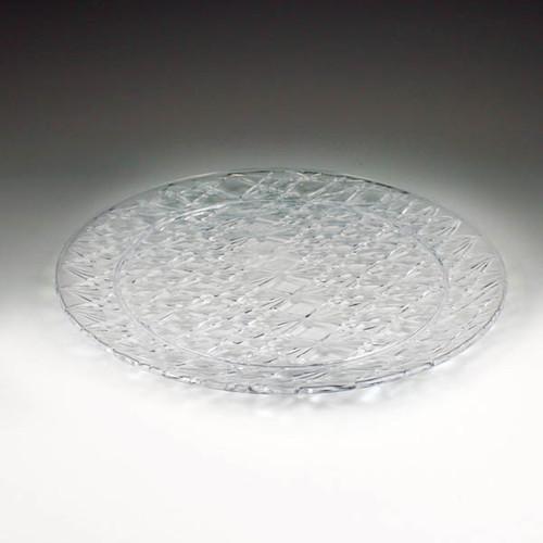 """Crystal Cut 13"""" Round Tray (12 per case)"""