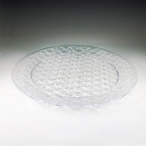 """Crystal Cut 16"""" Round Tray (12 per case)"""