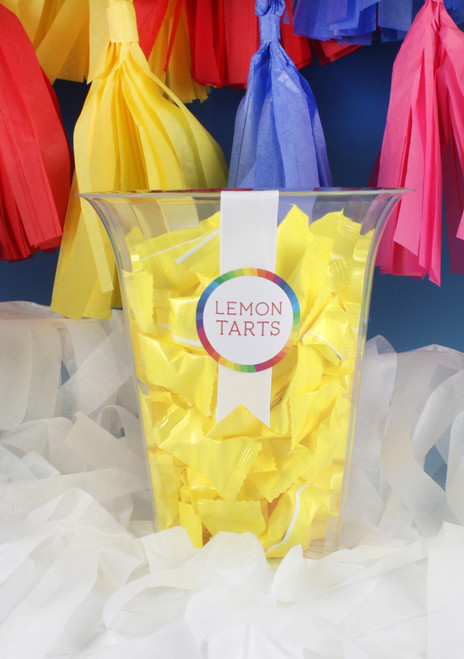 Candy Time Large Flared Cylinder (12 Pieces)