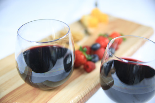 18 oz. Stemless Wine Glasses (72 per case)