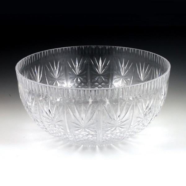 12 qt. Crystal Cut Punch Bowl (3 Piece)