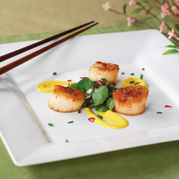 """9.5"""" Simply Squared Dinner Plate"""