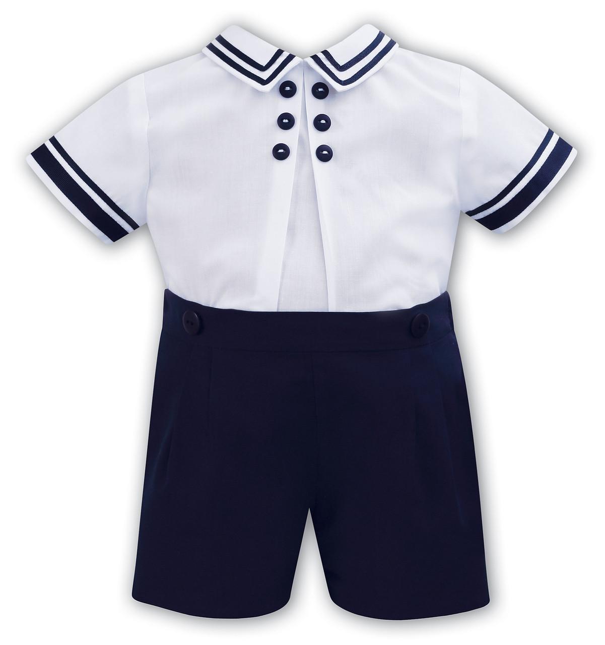 839a07d06c8dc SS18 Sarah louise nautical outfit boys