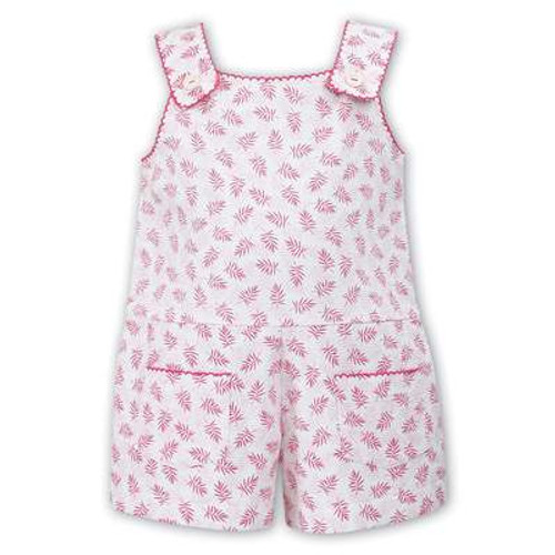 7ff23773ef8b Pink Smocked Dress and Panty. £52.00. 011528 pink feather print shortall sarah  louise