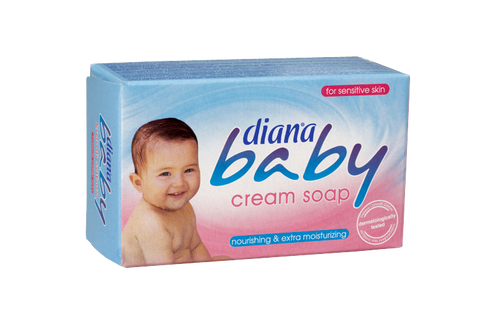 Diana Baby  With its creamy foam, allantoin and enriched moisturizers diana baby cream soap restores the moisture lost on your baby's skin during bath time. It softens and smoothes your baby's delicate skin. Diana baby cream soap is dermatologically tested, you can safely use for your baby and for yourself.  shampoo, conditioner, hair, hair care, hair-care, pantene, Palmolive, London, UK, England, arsenal, chelsea, Manchester, Totten ham, love, like, follow, twitter, Facebook, apple, organic, Microsoft, soap, cosmetics, moisturizer, natural, cosmopolitan, vogue, dalan, haci sakir, haci, dove, duru, evyap, arko, the body shop, Instagram, London