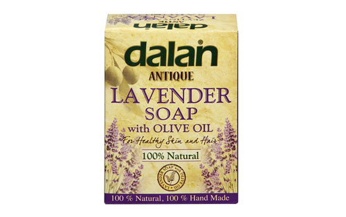 Discover the incredible harmony of relaxing fragrance of Lavender and Dalan's Traditional Olive Oil soap. dalan, antique, london, organic, Lavender, soap, cosmetics, beauty, body, hair, cleaning, uk