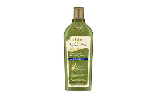 We created our Olive Oil Anti-Dandruff Shampoo for you with 70 years of experience in 100% olive oil soaps, guaranteed by Dalan quality. It will help in moisture and balance the scalp.  The anti-fungal effect fights with the microorganisms causing dandruff. With Rich Active Complex helps to prevent hair loss and silk protein gives softness to your hair.