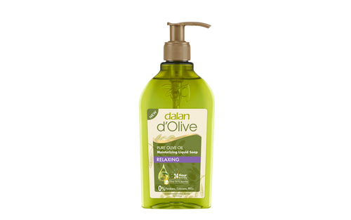 DALAN DOLIVE PURE OLIVE OIL MOISTURIZING LIQUID SOAP - RELAXING 300ML