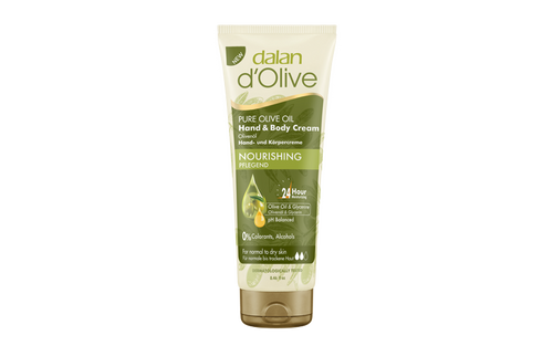 DALAN DOLIVE HAND AND BODY CREAM - NOURISHING 250ML