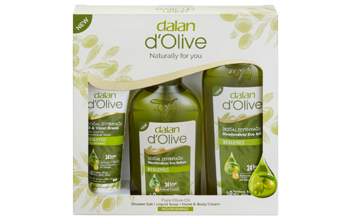 Dalan Therapy giftset. Cosmetics, gift, facebook, twitter