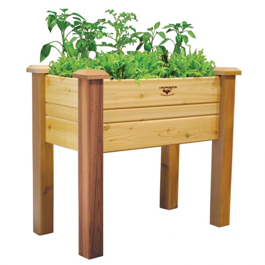 """Elevated Garden Bed 18x34x32 - 10""""D"""