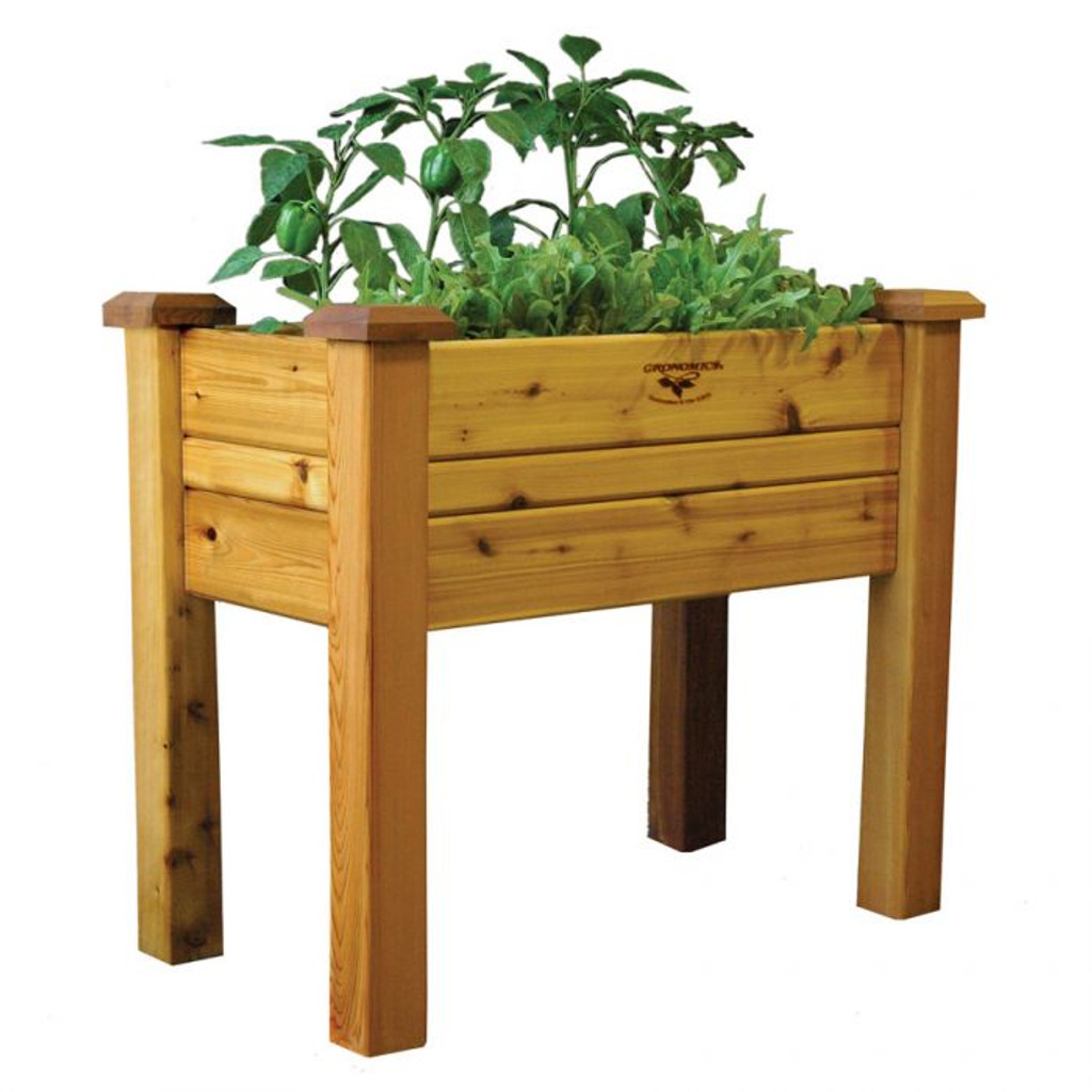 Elevated Garden Bed 18x34x32 Safe Finish