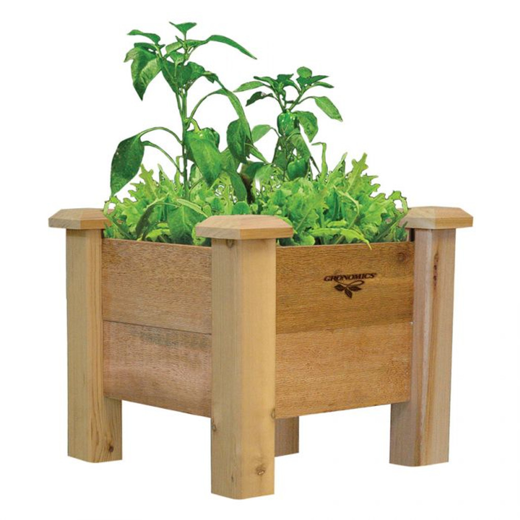 Rustic Planter Box 18x18x19