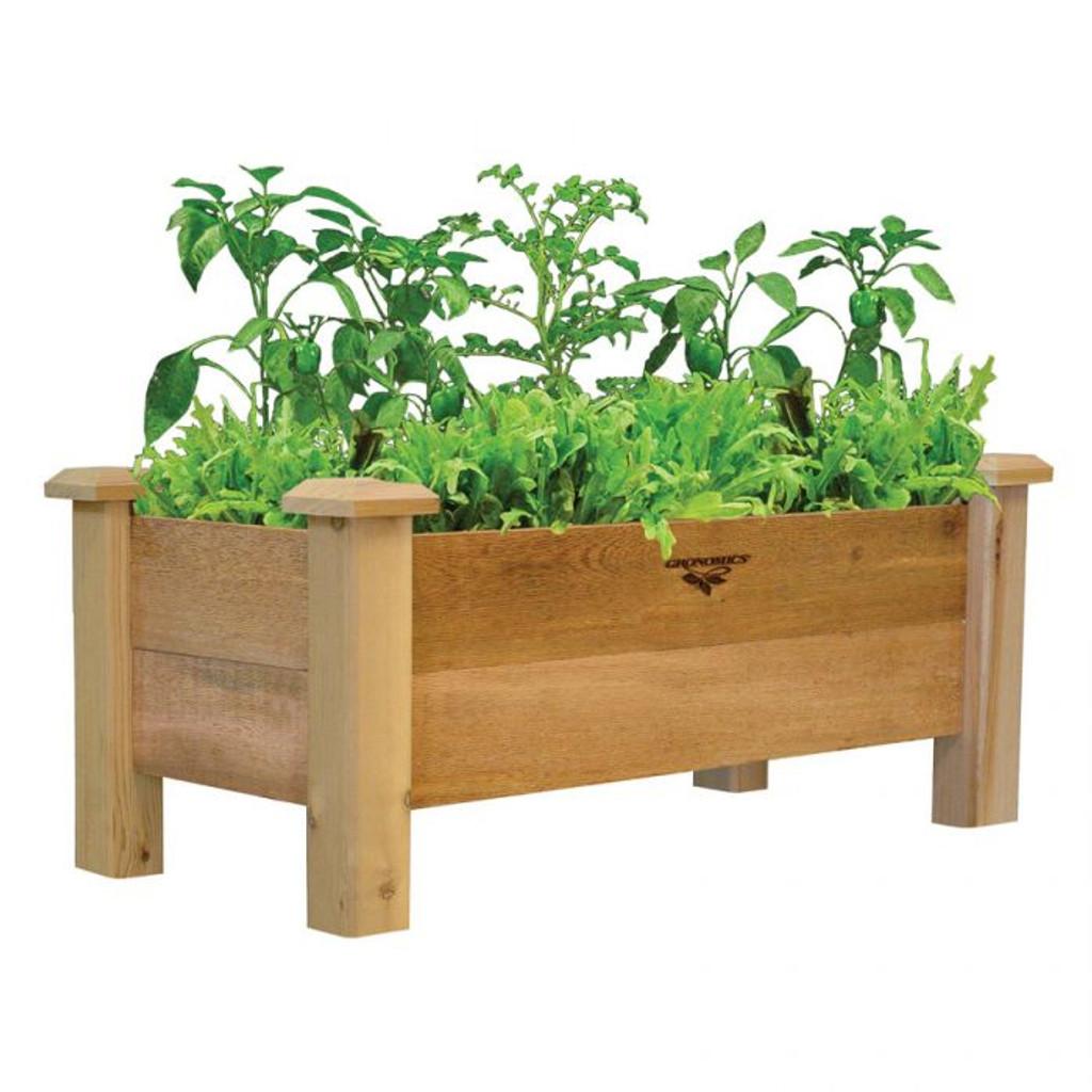 Rustic Planter Box 18x34x19