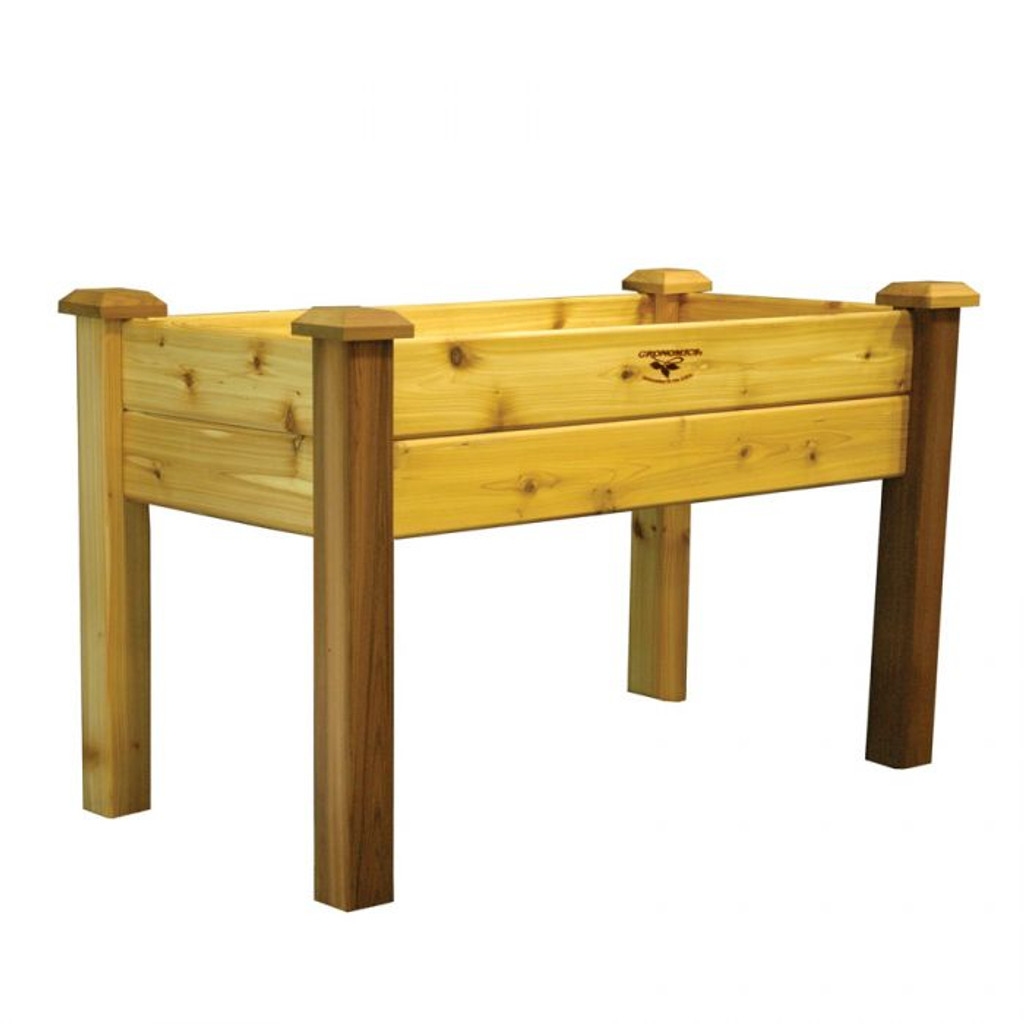"""-TEMPORARILY OUT OF STOCK-Elevated Garden Bed 24x48x32 - 10""""D"""