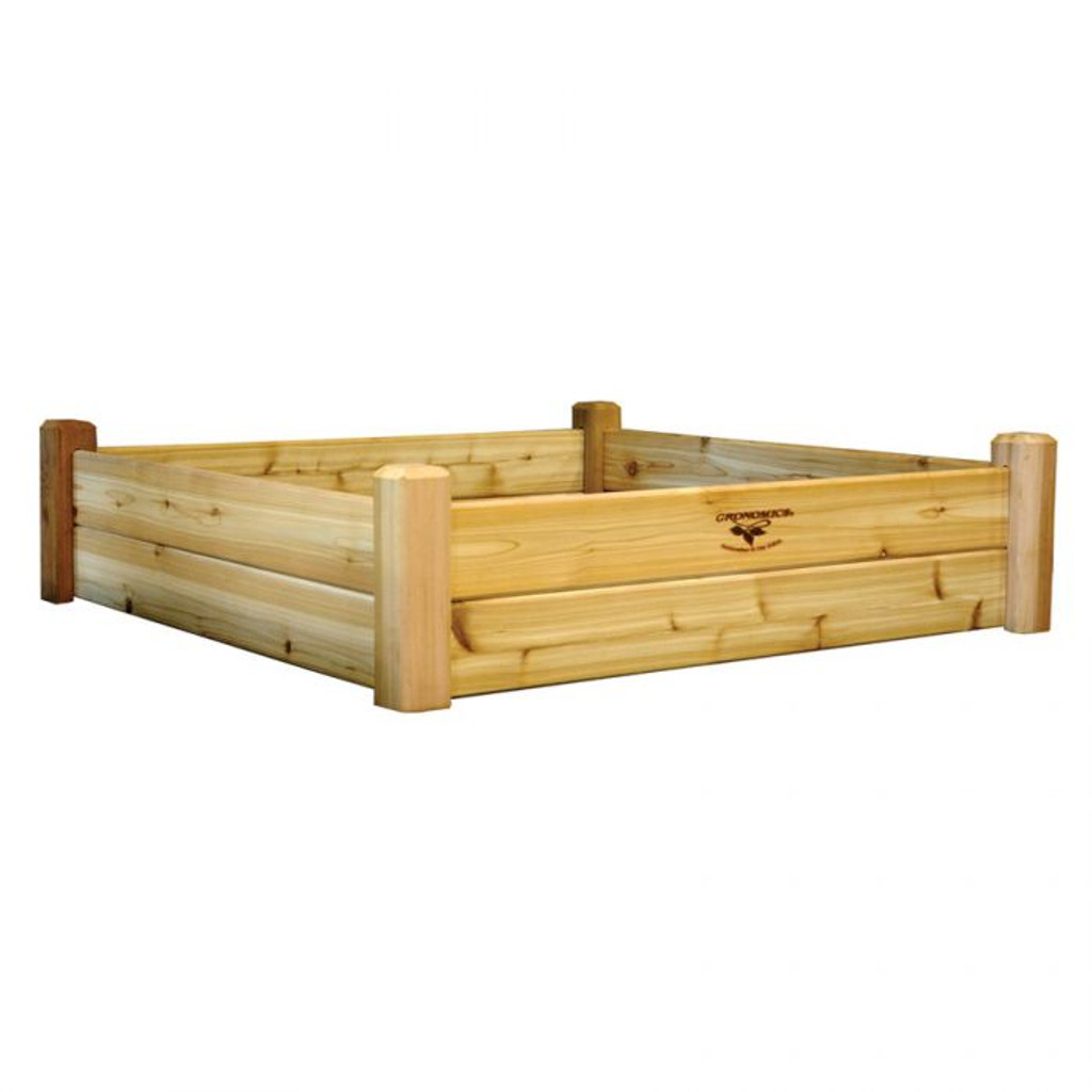 -TEMPORARILY OUT OF STOCK-Raised Garden Bed 48x48x13