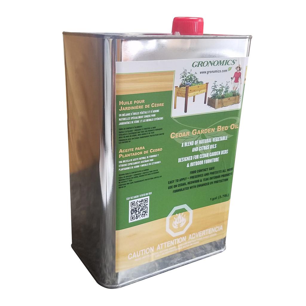 Cedar Garden Bed Oil - 1 Gallon