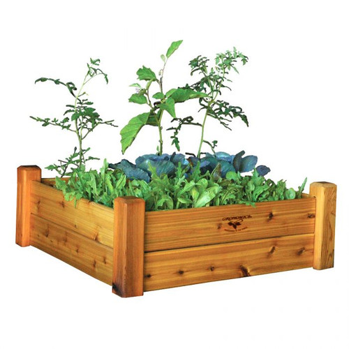 Raised Garden Bed 34x34x13