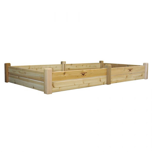 -TEMPORARILY OUT OF STOCK-Raised Garden Bed 48x95x13