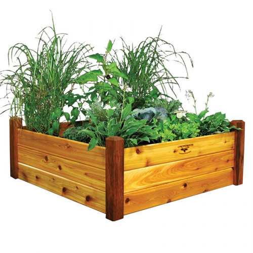 -TEMPORARILY OUT OF STOCK-Raised Garden Bed 48x48x19