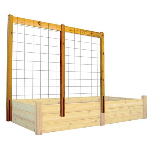 "Raised Garden Bed Trellis Kit 95x80""H"
