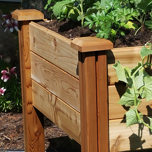 """Modular Elevated Garden Bed 34""""Wx34""""Lx32""""H"""