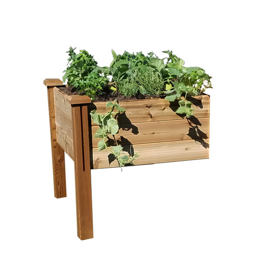 "Modular Elevated Garden Bed 34""Wx34""Lx32""H  Extension Kit"