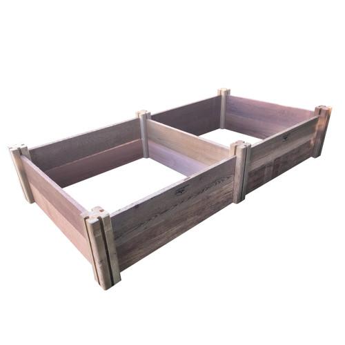 "Modular Rustic Garden Bed 36""Wx72""x13""H"