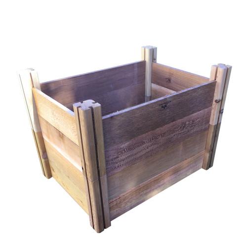 "Modular Rustic Garden Bed 24""Wx36""x26""H"