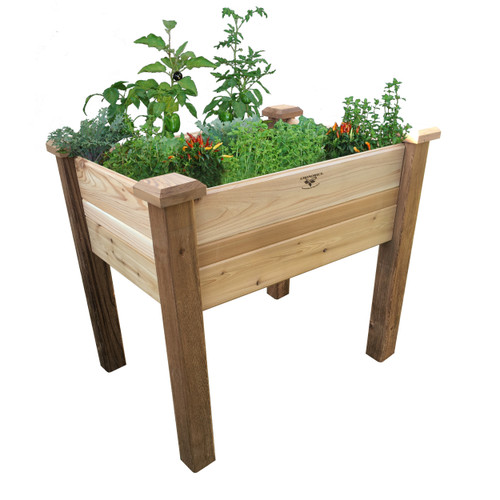 """Elevated Garden Bed 24""""Wx36""""Lx32""""H"""
