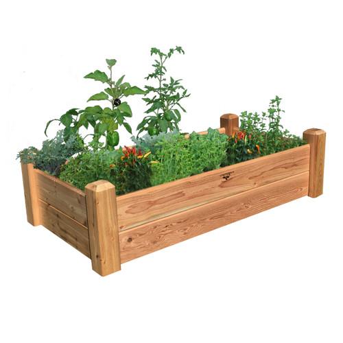 "Rustic Garden Bed 24""Wx48""Lx13""H"