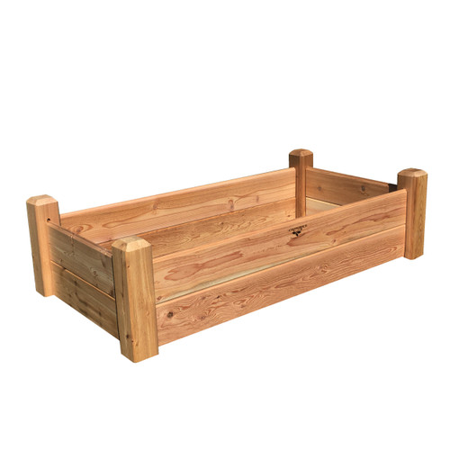 "Raised Garden Bed 24""Wx48""Lx13""H"