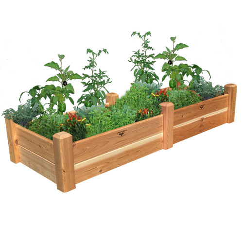 "Rustic Garden Bed 24""Wx72""Lx13""H"