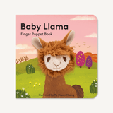 Rancho Relaxo Chronicle Books Baby Llama Finger Puppet Book