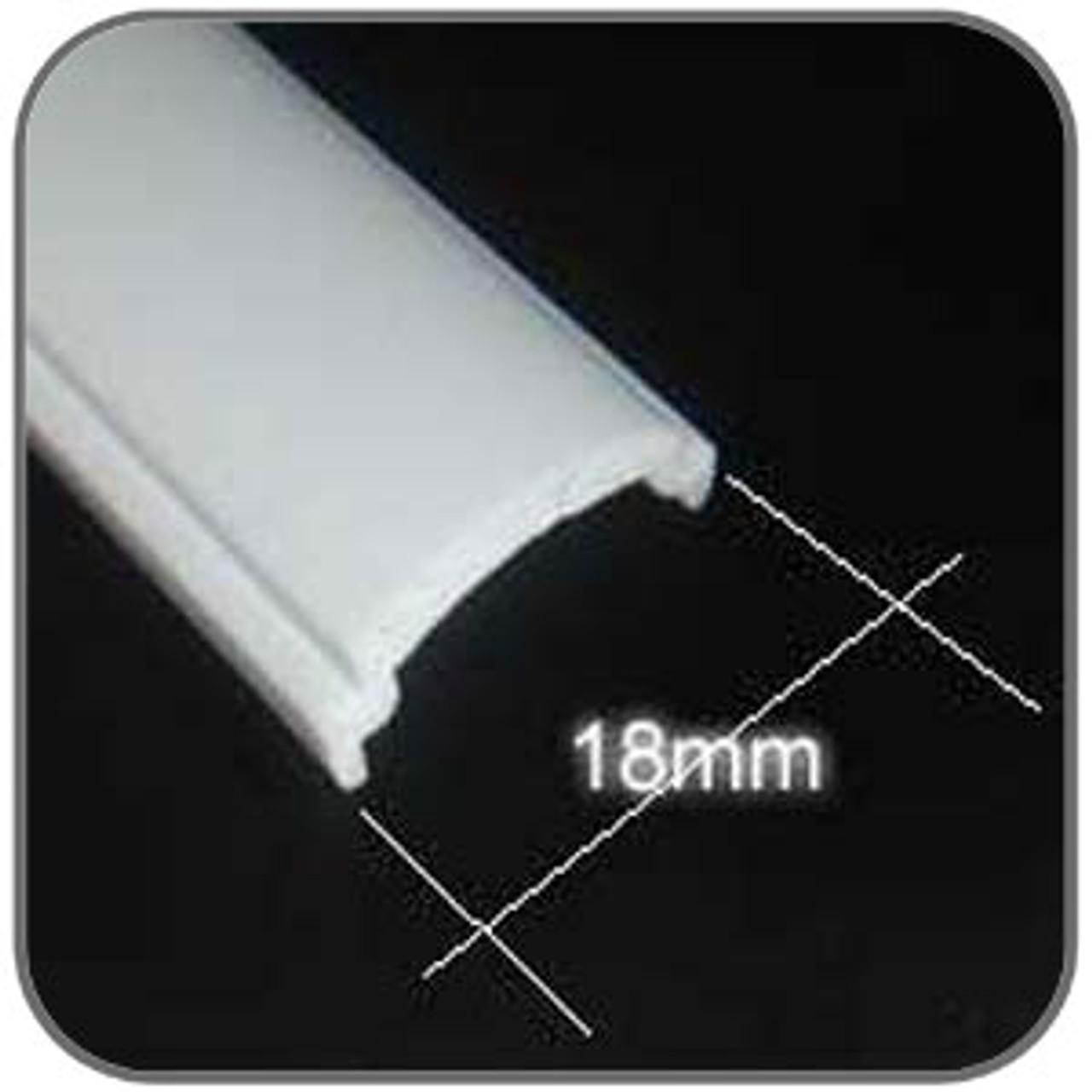 Jayco Mould Insert - 18mm White used mainly on Jayco corner trims