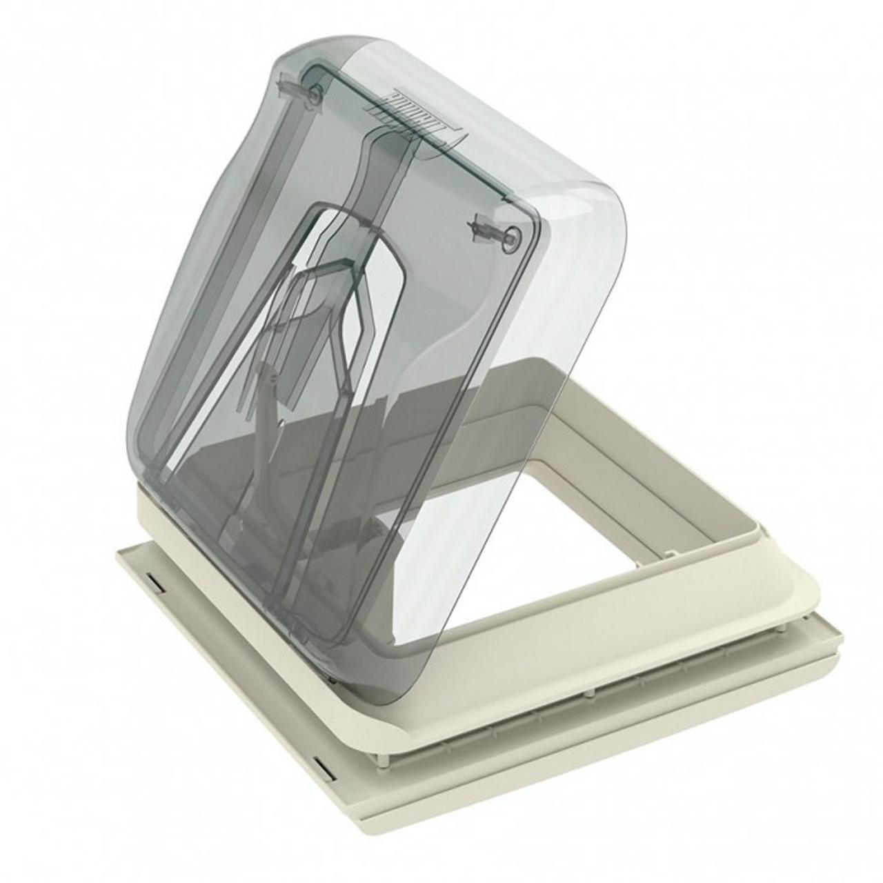 Fiamma hatch 280mm X 280mm Crystal Vent 28 F  Open View