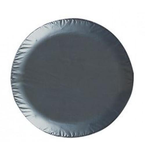 355Mm Vinyl Wheel Cov Black Plain | 534 | Caravan Parts