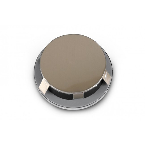 Clock Silver Bezel Front