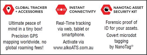 Al-Ko Anti Theft System (Ats) Gps Tracker | 698000 | Caravan Parts