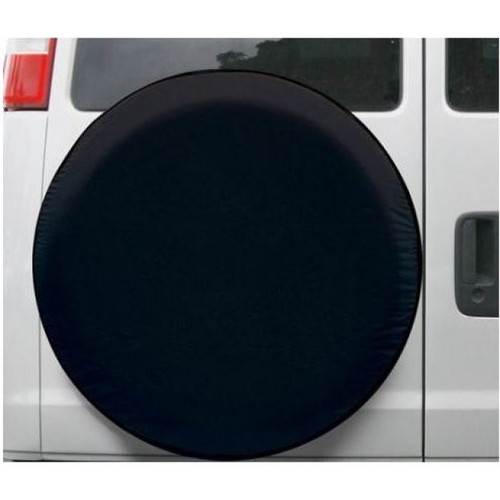13-14In Vinyl Wheel Cov Black | 520 | Caravan Parts