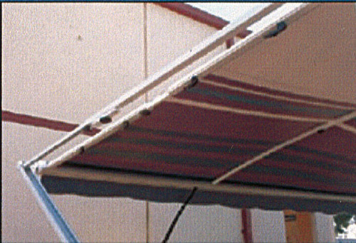 Awning Anti Flap kit - Medium 2.3m to 2.2m Side wall support