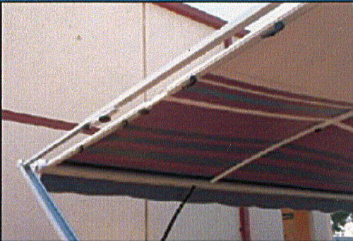 Awning Anti Flap kit - Long 2.3m to 2.4m Side wall support