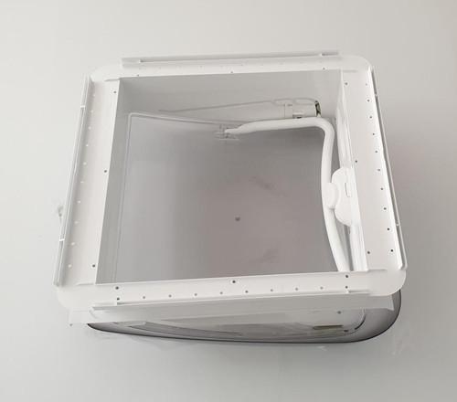 Dometic Seitz Heki Mini Hatch Roof Thickness 43mm To 60mm | bottom view | 650-00610