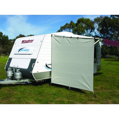 Caravan Privacy End Screen
